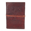 Tree Of Life Leather Embossed Journal 18 x 25cm - Book