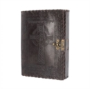 Celtic Cross Leather Journal 25 x 18cm - Book
