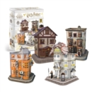 HP Diagon Alley 4 in 1 3D Puzzle - Book