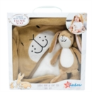 GHMILY SOFT TOY WITH CUDDLE ROBE - Book