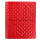 A5 DOMINO LUXE ORGANISER RED - Book