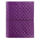 A5 DOMINO LUXE ORGANISER PURPLE - Book