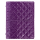 POCKET DOMINO LUXE ORGANISER PURPLE - Book