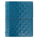 POCKET DOMINO LUXE ORGANISER TEAL - Book