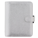 POCKET SAFFIANO ORGANISER METALLIC SILVE - Book