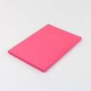 COLOURBLOCK A5 NOTEBOOKCANDY PINK - Book