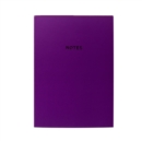 COLOURBLOCK A5 NOTEBOOKRICH PLUM - Book