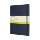 Moleskine Sapphire Blue Extra Large Plain Notebook Soft - Book