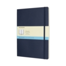 Moleskine Sapphire Blue Extra Large Dotted Notebook Soft - Book