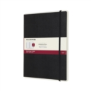 Moleskine Smart Writing Paper Tablet Black Xl Ruled Hard - Book