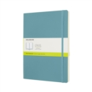 Moleskine Reef Blue Notebook Extra Large Plain Soft - Book