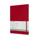 Moleskine 18 Month Weekly Notebook Planner 2020 - Scarlet Red - Book
