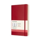 Moleskine 12-Month Daily Planner 2020 - Scarlet Red - Book