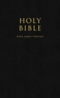 HOLY BIBLE: King James Version (KJV) Popular Gift & Award Black Leatherette Edition - Book