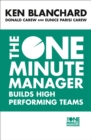 The One Minute Manager Builds High Performing Teams - Book