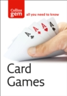 Card Games - Book