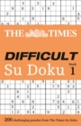 The Times Difficult Su Doku Book 1 : 200 Challenging Puzzles from the Times - Book
