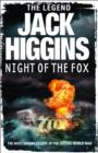Night of the Fox - Book
