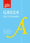 Greek Gem Dictionary : The World's Favourite Mini Dictionaries - Book