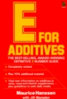 E for Additives - eBook