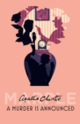 A Murder is Announced (Miss Marple) - eBook
