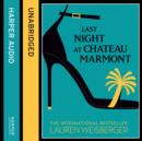 Last Night at Chateau Marmont - eAudiobook