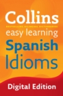 Easy Learning Spanish Idioms - eBook