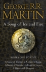 A Game of Thrones: The Story Continues Books 1-5 - eBook
