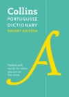 Portuguese Pocket Dictionary : The Perfect Portable Dictionary - Book
