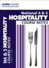 National 4/5 Hospitality Course Notes - Book