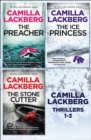 Camilla Lackberg Crime Thrillers 1-3: The Ice Princess, The Preacher, The Stonecutter - eBook