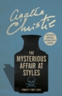 The Mysterious Affair at Styles - Book