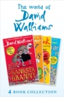 The World of David Walliams 4 Book Collection (The Boy in the Dress, Mr Stink, Billionaire Boy, Gangsta Granny) - eBook