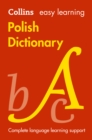 Easy Learning Polish Dictionary : Trusted Support for Learning - Book