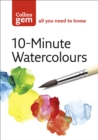10-Minute Watercolours - eBook