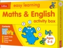 Maths and English Activity Box Ages 3-5 - Book