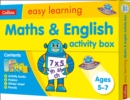 Maths and English Activity Box Ages 5-7 - Book
