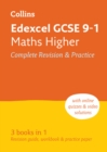 Edexcel GCSE 9-1 Maths Higher All-in-One Complete Revision and Practice : Ideal for Home Learning, 2021 Assessments and 2022 Exams - Book