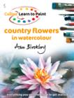 Country Flowers in Watercolour - eBook
