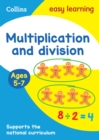 Multiplication and Division Ages 5-7 : Ideal for Home Learning - Book