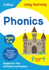 Phonics Ages 5-6 : Prepare for School with Easy Home Learning - Book