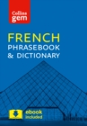 Collins French Phrasebook and Dictionary Gem Edition : Essential Phrases and Words in a Mini, Travel-Sized Format - Book