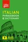 Collins Italian Phrasebook and Dictionary Gem Edition : Essential Phrases and Words in a Mini, Travel-Sized Format - Book