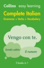 Easy Learning Italian Complete Grammar, Verbs and Vocabulary (3 books in 1) : Trusted Support for Learning - Book