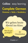 Easy Learning German Complete Grammar, Verbs and Vocabulary (3 books in 1) - Book