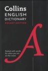 English Pocket Dictionary : The Perfect Portable Dictionary - Book