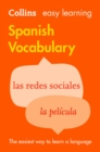 Easy Learning Spanish Vocabulary: Trusted support for learning (Collins Easy Learning) - eBook
