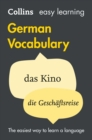 Easy Learning German Vocabulary: Trusted support for learning (Collins Easy Learning) - eBook