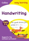 Handwriting Ages 7-9 : Ideal for Home Learning - Book