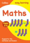 Maths Ages 3-5 : Prepare for School with Easy Home Learning - Book